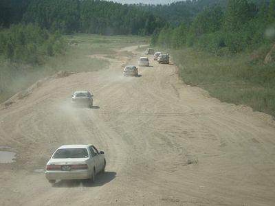 Перегон Nissan March по маршруту Владивосток-Барнаул-Москва.