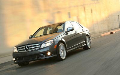Mercedes-Benz C350.
