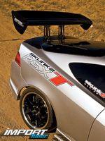 Спойлер Acura RSX Type S Turbo.