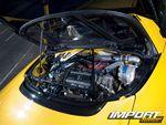 Крышка двигателя Acura NSX-T.