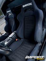 Сидения Acura NSX-T.