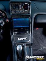Центральная консоль Acura NSX-T.