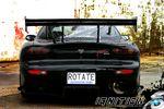 Тюнинг Mazda RX-7. Машина для Бэтмена.