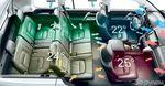 Четырехзонный климат-контроль обеспечит комфортные условия персонально каждому. Для среднего ряда – свой пульт управления (но температуру можно задать и с места водителя). 28 дефлекторов быстро согреют или остудят седоков.