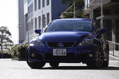 Lexus IS F.