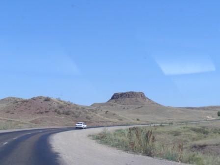 Путешествие с Алтая в Алматы на Mitsubishi Lancer.