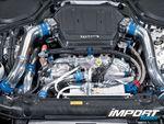 Двигательный отсек Nissan 350Z.