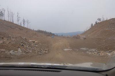Перегон из Владивостока до Красноярска на Nissan March.