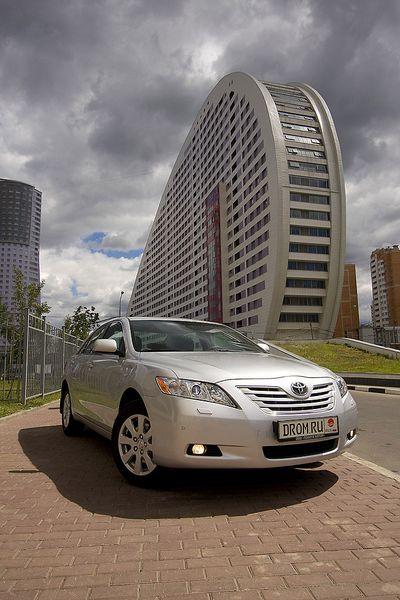 Toyota Camry, российская сборка.