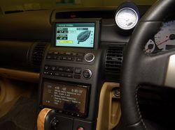 Центральная консоль Nissan Stagea AR-X.