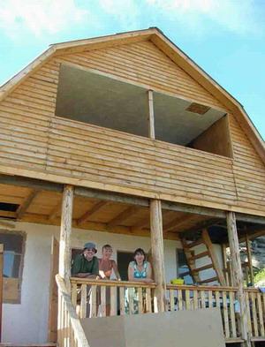 Вот дом, в котором жили первые 4 дня