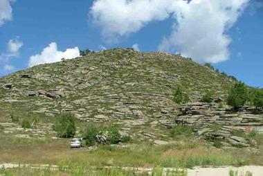 Это и есть гора Мохнатка