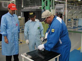 Завод Цуцуми (Toyota). Русские сборщики с завода в Шушарах на стажировке.