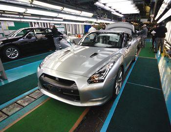 Японский завод Тотиги компании Nissan. Здесь собирают Nissan GT-R. Фото: B.R. Murphy.