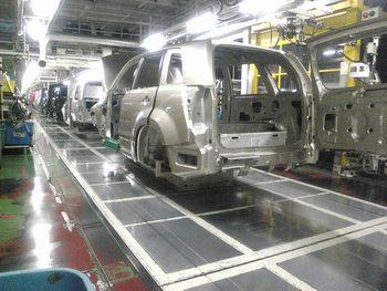 Завод Иватэ компании Suzuki, сборка автомобилей Suzuki Escudo и Suzuki Vitara