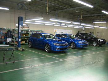 Японский завод Гунма компании Subaru. Линии финальной сборки автомобилей. Фото: spec G.