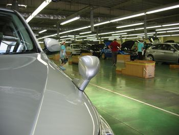 Японский завод Гунма компании Subaru. Фото: spec G.