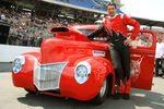 Конрад Байер (Konrad Bayer) и его Ford Pickup (класс Super Gas).