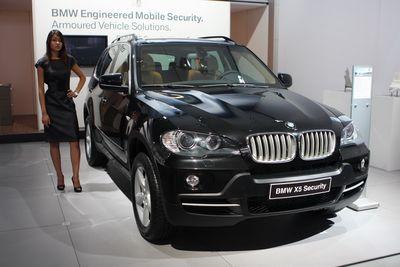 BMW X5 Security.