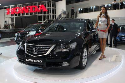 Honda Legend. Обновленная модель.