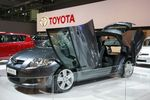Модифицированный Toyota Auris.