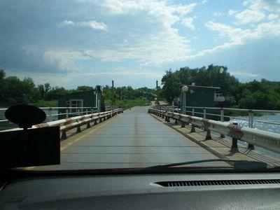 Понтонный мост через Дон