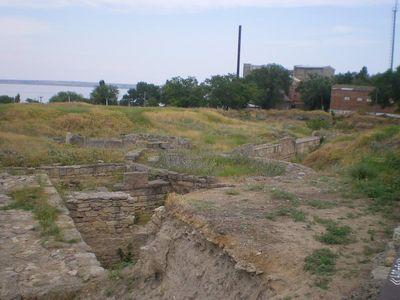 Раскопки древнегреческого города (Белгород-Днестровский)