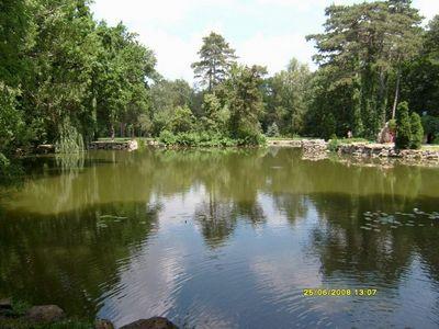 И такие милые озера в парках