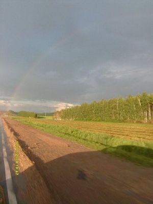 Средняя полоса России - радуга