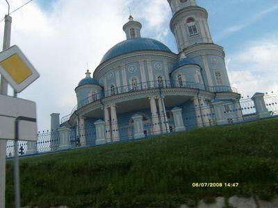 Церковь под Иркутском