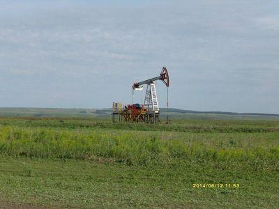 Башкирские нефтекачалки