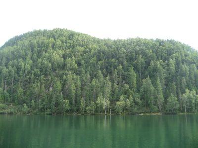 Теплые озера.