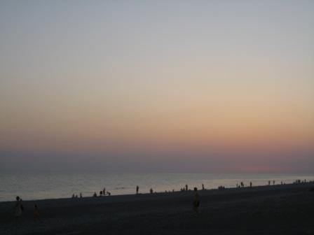 Вид на «наш» пляж!