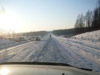 Зимний перегон Mitsubishi Pajero-Io по маршруту Владивосток — Москва.