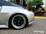Задний литой диск Nissan 350Z