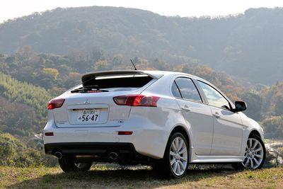 Mitsubishi Galant Fortis Sportback Ralliart