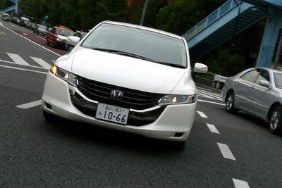 Обзор Honda Odyssey нового поколения.