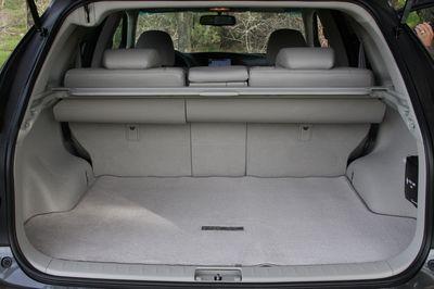 Багажное отделение Lexus RX 350