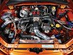 Subaru Impreza WRX, подкапотное пространство
