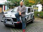 Lada Niva 1.7 и немецкий автожурналист.
