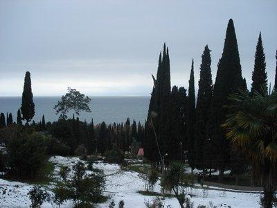 Вид с монастыря.