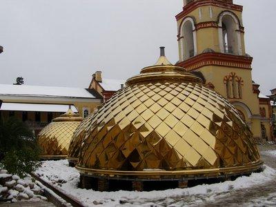 Новый купол.