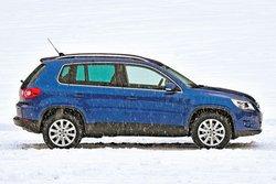 В роли легкоатлета: VW Tiguan 2.0 TSI Sport&Style (масса 1 609 кг)