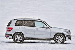 В роли нового: Mercedes GLK 280 4Matic (дебютировал в 2008 году)
