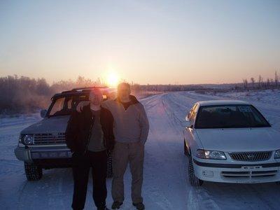 Обзор нескольких перегонов с Востока на Север в Якутск.