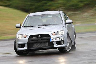 Mitsubishi Lancer Evolution стоит 45 950 евро.