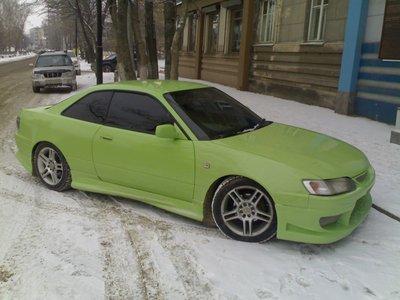 Перегон Toyota Levin BZ-G из Иркутска в Новосибирск.
