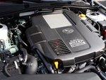 Оппозитный двигатель Subaru начинает по-настоящему работать только после 2000 оборотов.