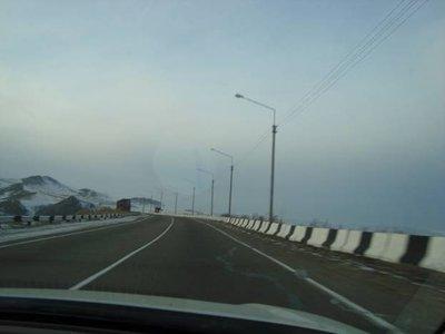 Перегон из Влада в Тюмень Nissan Teana и Mitsubishi RVR (03.02.09-12.02.09).
