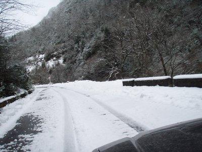 Новогодняя поездка в Абхазию на Subaru Legacy B4.